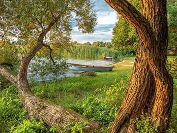 Vue - Belle vue sur le lac - souvenirs