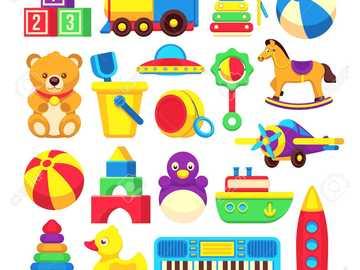 JOUETS - Construisez votre puzzle à partir de jouets
