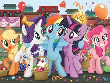 """My little Pony shopping ponies - """"Keep your eyes open before the wedding and close them later."""""""