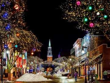 Paesaggio di Natale - Paesaggio di Natale