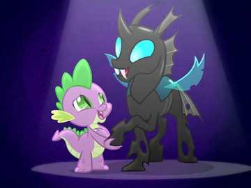 "My Little Pony - A Changeling Can Change - ""Look at the world every day as if you were watching it for the first time."""