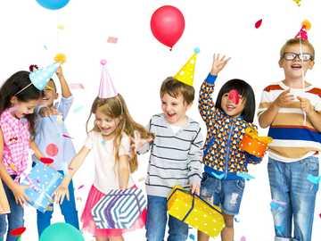 Alles Gute zum Kindertag - Puzzle für den Kindertag