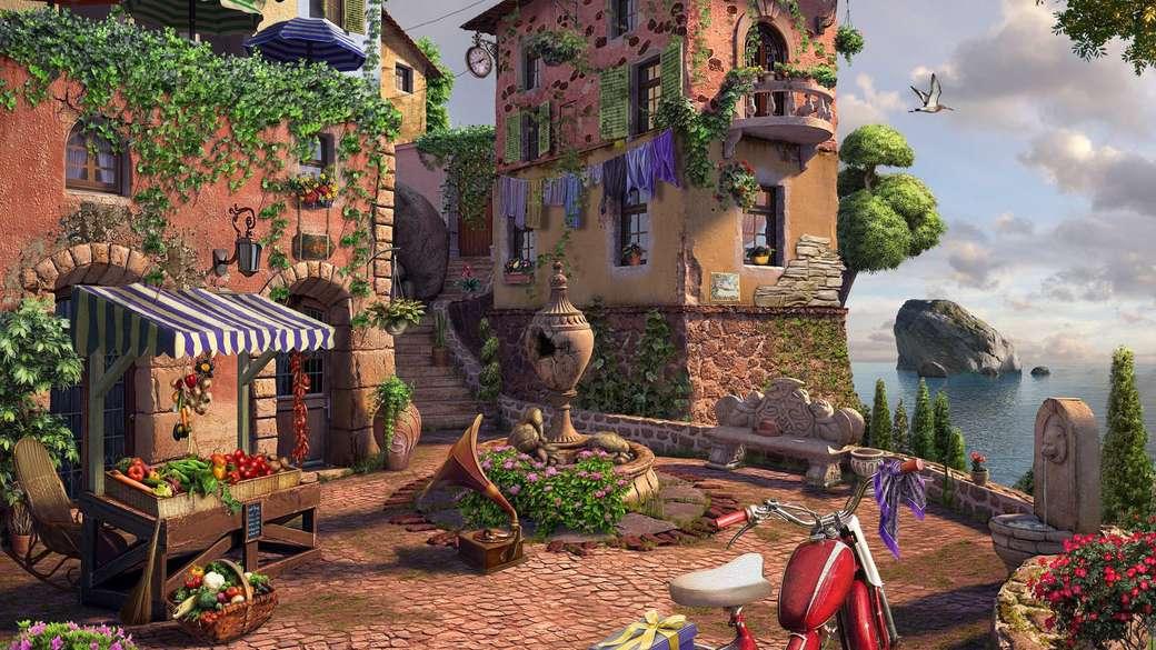Un cortile in città - Un cortile in città
