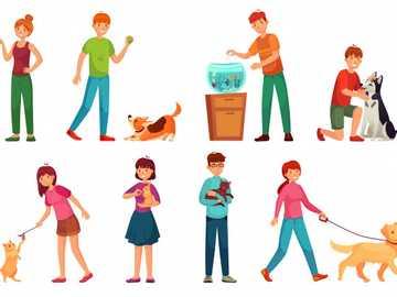 Cuidado de animales domésticos - Imagen relacionada al cuidado que debemos tener con los animales que tenemos en nuestro hogar