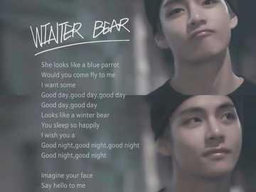 v witer bear - arriba 90 cm abajo 90 cm derecha 90 cm izquierda 90 cm
