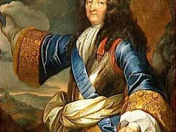 LUIS XIV OF FRANCE - Louis XIV, King of France in the second half of the 17th century. The Sun King embodied absolute and