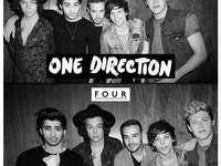 una direzione quattro - one direction il 4 ° album (copertina)