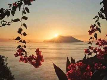 Sunrise. - Landscape puzzle.