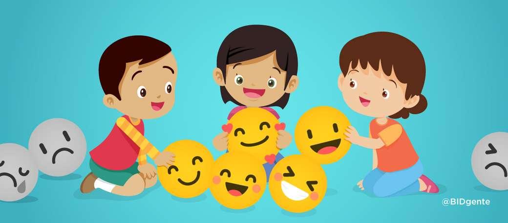 EMOÇÕES - faça o seguinte quebra-cabeça de emoções (10×4)