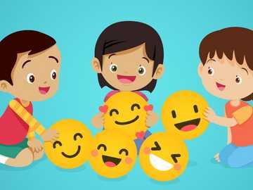 EMOTIONS - realice el siguiente rompecabezas de emociones