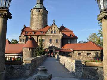 Zamek Czocha .Główne wejście - Zamek Czocha .Główne wejście