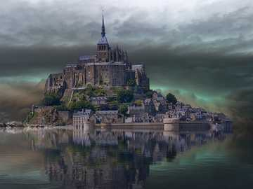 Château sur la montagne - Château sur la montagne