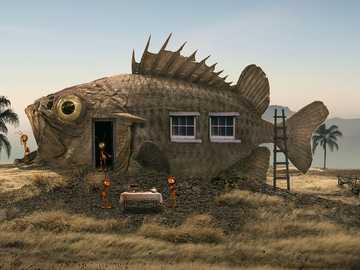 Fish house - interesting construction - fish house