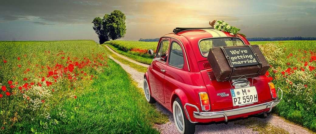 Samochód na wsi - Samochód na wsi
