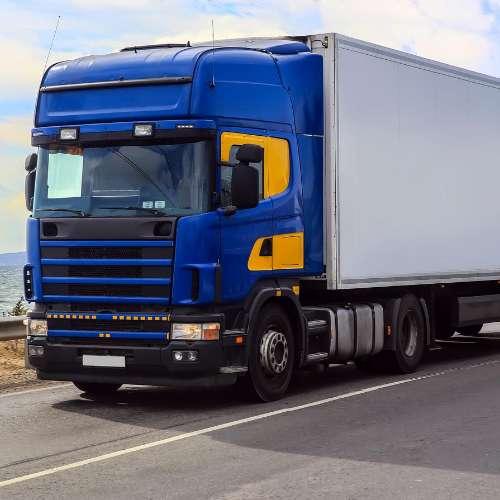 Mașină albastră - Camion albastru (3×3)