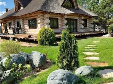 projekt domu drewnianego i ogrodu - projekt domu drewnianego i ogrodu
