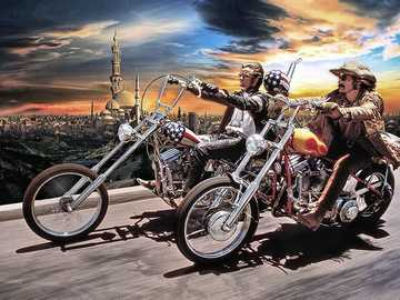 Łatwy jeździec - Harley Davidson - Easy rider - Harley Davidson ....