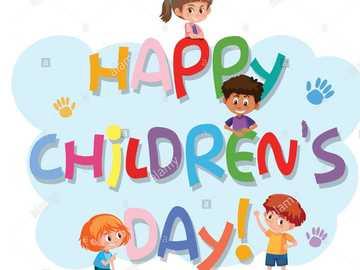 HAPPY CHILDREN´S DAY - RE ORDER PUZZLE HAPPY CHILD'S DAY