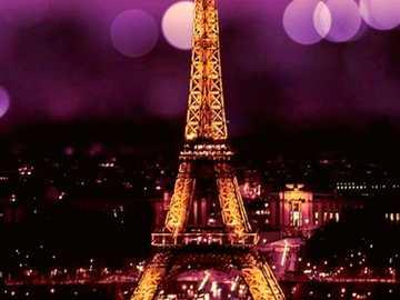 Dusk - Paris, I like it, I want to live in Paris, I am a fan of meet me in Paris, I want to meet Jésica Lo