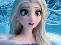 frozen elsa - up 90 cm down 90 cm right 90 cm left 90 cm