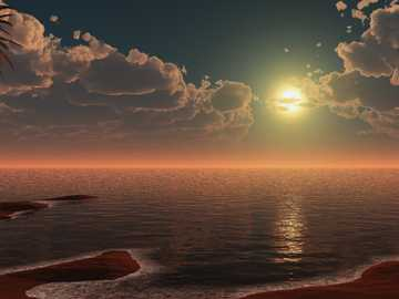 Sorgere della luna o tramonto? - Sorgere della luna o tramonto?
