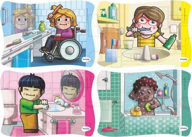 Igiena personala - Cum să ne protejăm de microbi (3×2)