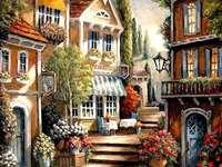 Malování. online puzzle