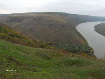 Tipova Monastery - wonderful landscape in Moldova