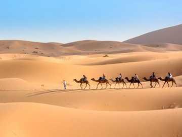 Deserto del Sahara - Deserto Sahara-sabbia