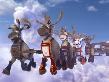 """Niko's reindeer saves his brother - """"People fall into three groups: those who cause events, those who observe events, those who nev"""