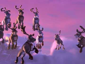 """Niko's reindeer saves his brother - """"And you can live only because of what you might die for."""""""