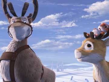 """Niko's reindeer saves his brother - """"Lean waist like thick wallet."""""""