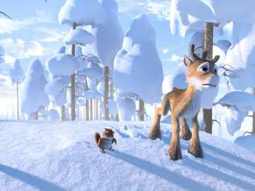 """Niko's reindeer saves his brother - """"Love, in its simple and timid speech, will say the most when it says least."""""""