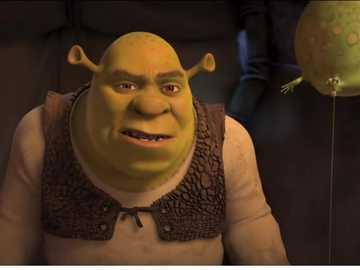 """Shrek: ........ - """"El coraje colectivo de la multitud es la suma de pequeños miedos individuales""""."""