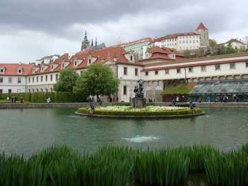 Praga, Repubblica Ceca - Palazzo e giardini di Wallenstein a Praga.