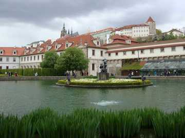 Prague - Czech Republic - Wallenstein Palace and Gardens in Prague.