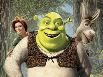 """Shrek ............. - """"Con i pensieri è come con i soldi: quando non hai i tuoi, prendiamo in prestito denaro""""."""