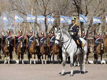 Grenadiers - Pułk stworzony przez Gral San Martín