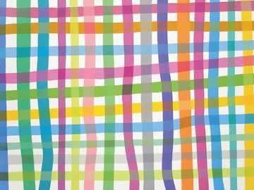 Прави линии - Пъзел за картина на Грасиела Хаспер