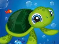 A tartaruga marinha
