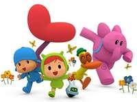 Pocoyo en zijn vrienden
