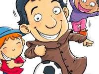 Don Bosco - San Juan Bosco. Saint Jean Bosco et les enfants.
