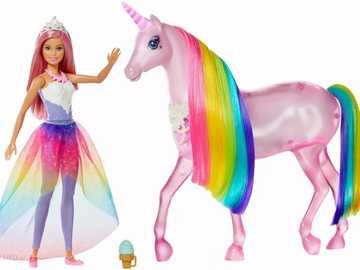 Barbie Jednorożec Magia Świateł - Barbie Jednorożec Magia Świateł