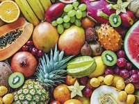 Frutas na clae