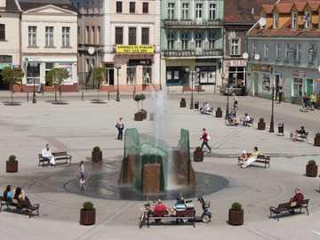 Fontanna w Inowrocławiu - Fontanna w Inowrocławiu
