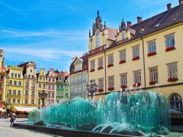 Fontanna we Wrocławiu - Fontanna we Wrocławiu