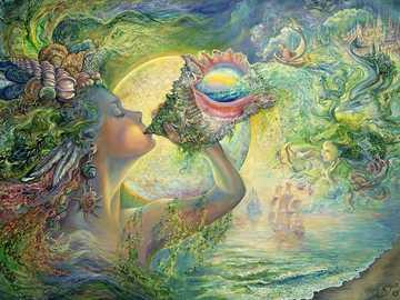 Malarstwo. - Sztuka. Josephine Wall.