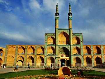 Yazd Iran - Amir chkhmagh Yazd - Iran