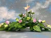 Květinová kompozice