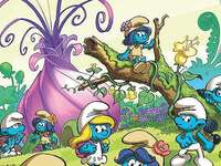 A törpök és a lányok falu - tiltott erdő